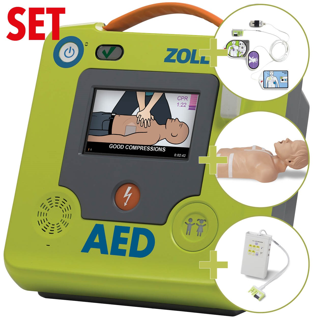 AED 3™ - Halbautomat inkl. Demo Set II
