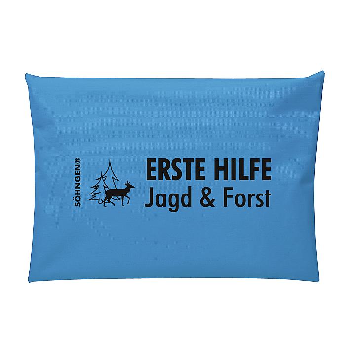 Erste Hilfe Jagd & Forst blau