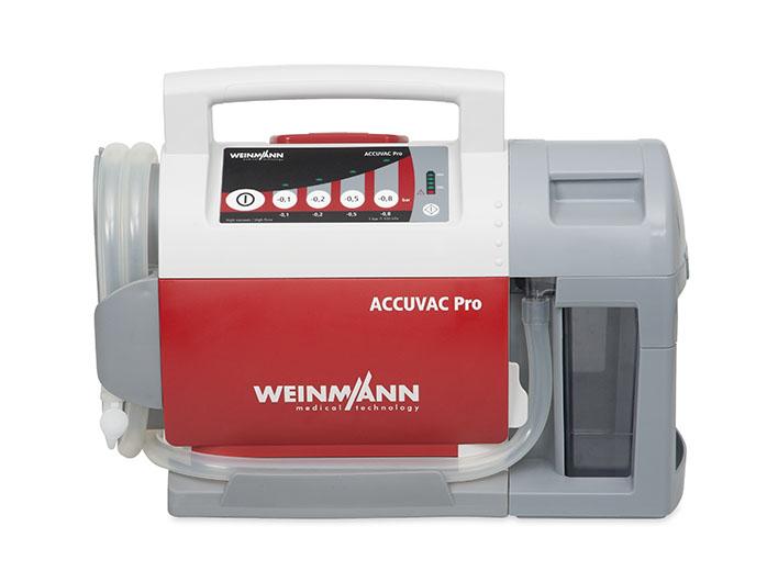 ACCUVAC Pro mit Mehrwegbehältersystemsystem, elektrisches Absauggerät