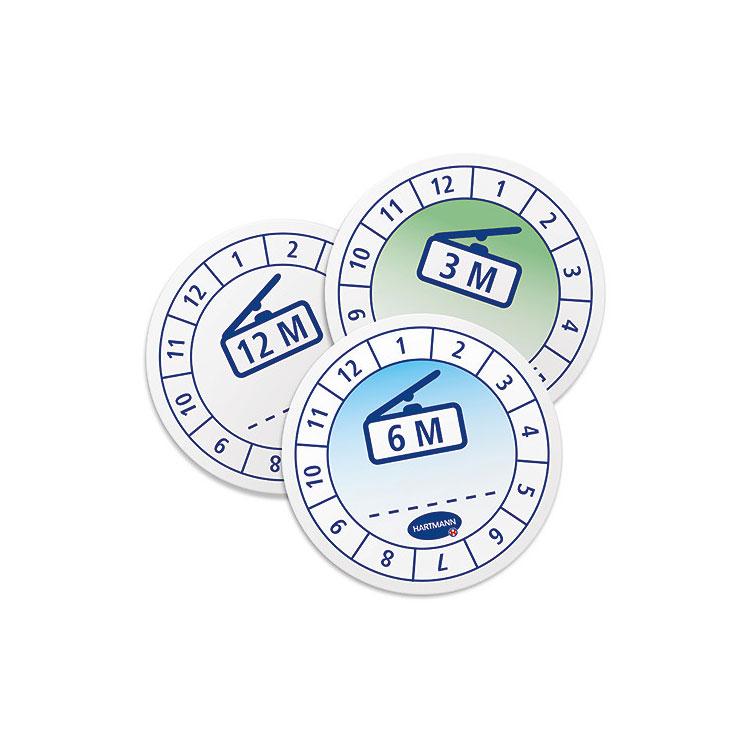 Etikett zur Kennzeichnung der Verwendbarkeit - Packung á 20 Stück
