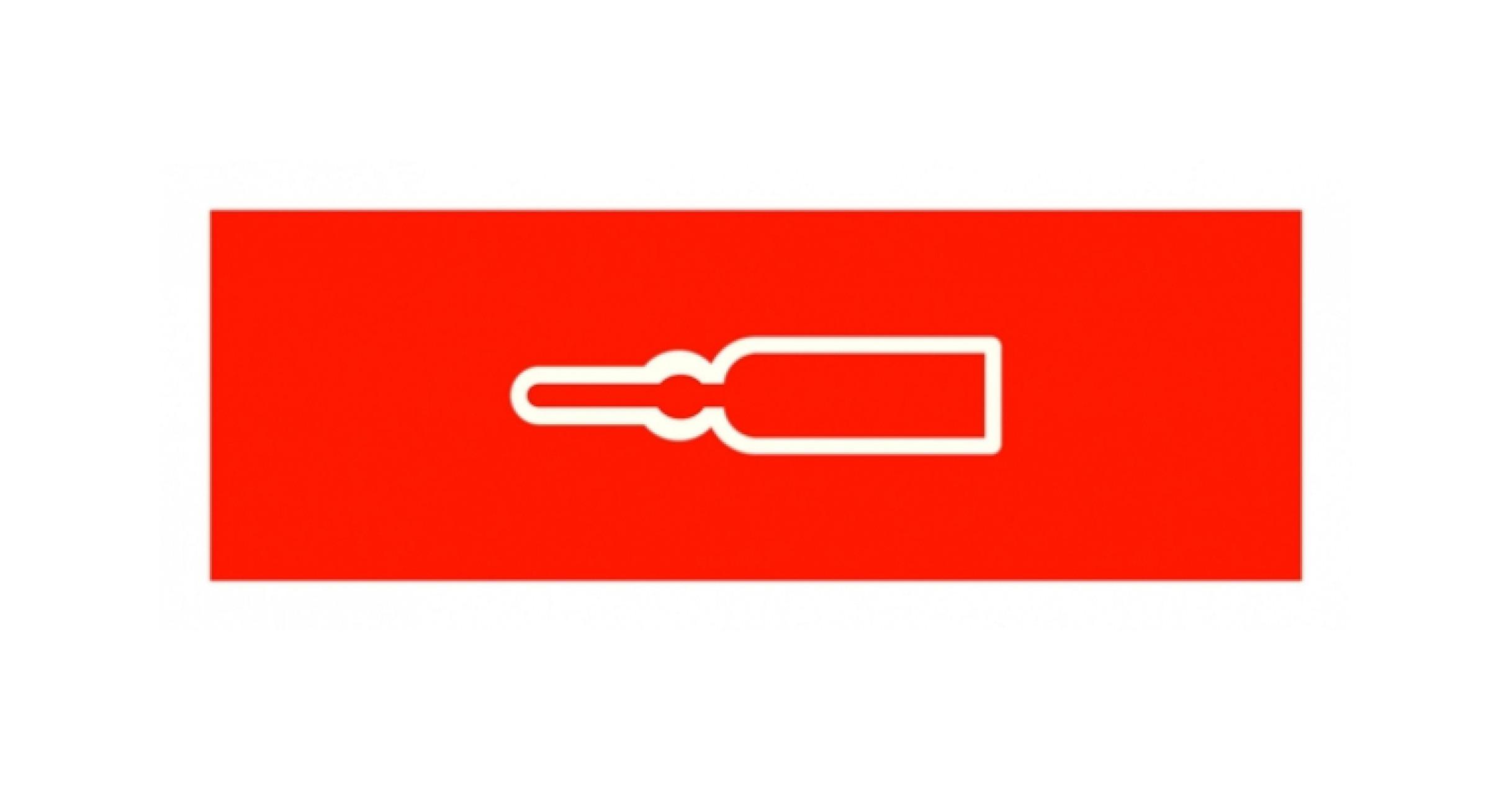 Normsymbol: Medikamente KREISLAUF 109 x 37 mm