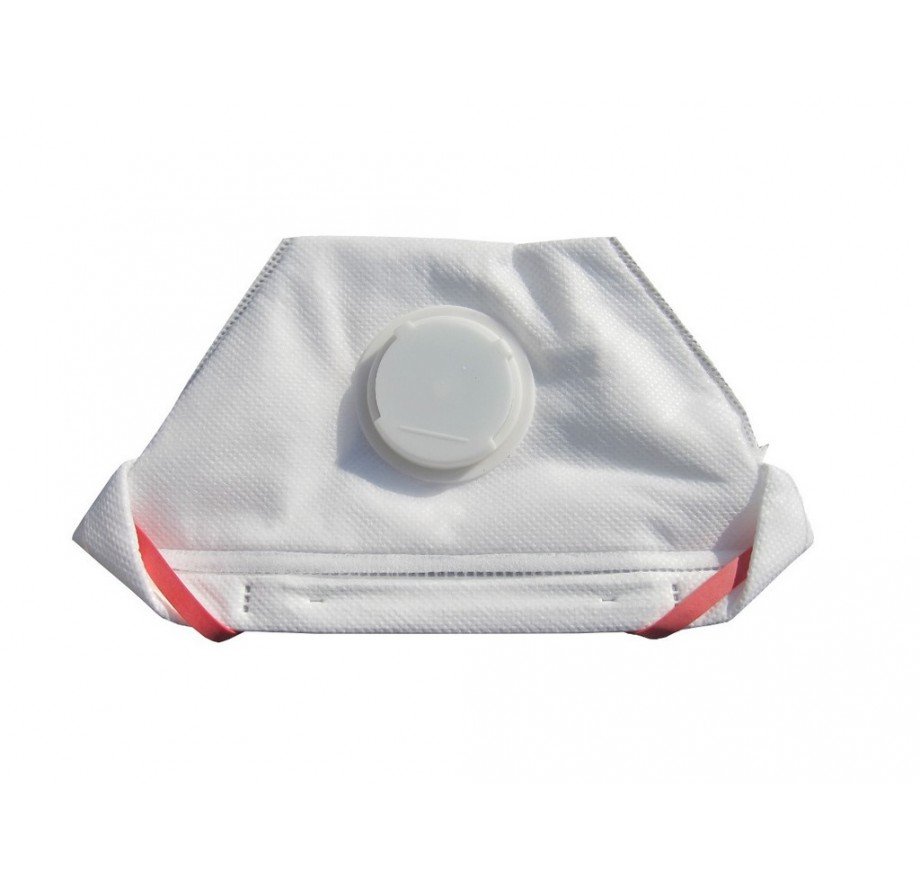 NOBAPROTECT FFP3 Atemschutzmaske mit Ausatemventil, 1 Stück