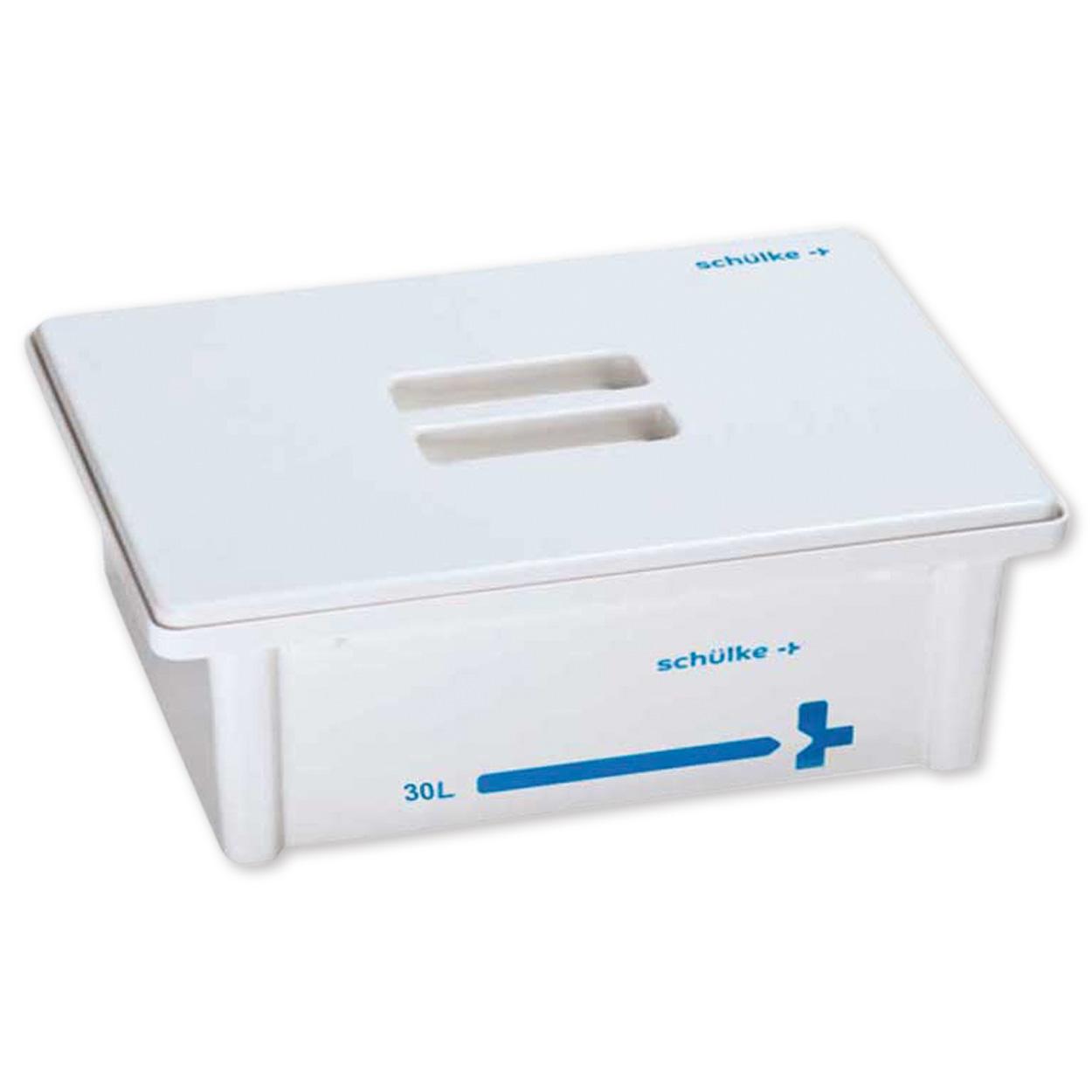 Instrumentenwanne 30 L – Komplett-Set / Deckel weiß