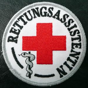 Fachkraftabzeichen Rettungsassistentin