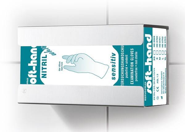 Handschuhhalterung F75 aus Edelstahl