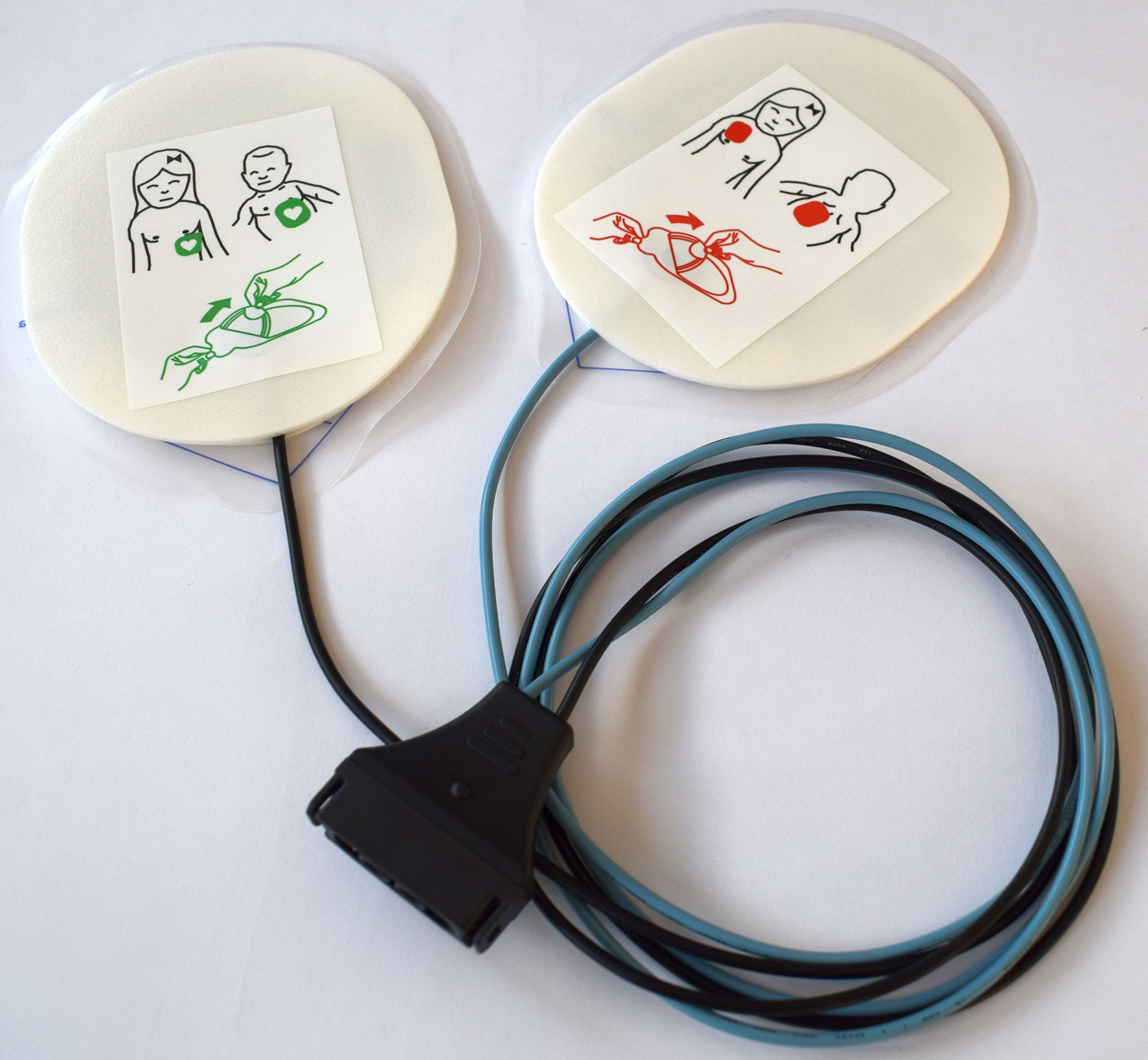 Defibrillationselektroden für den corpuls³ Kinder