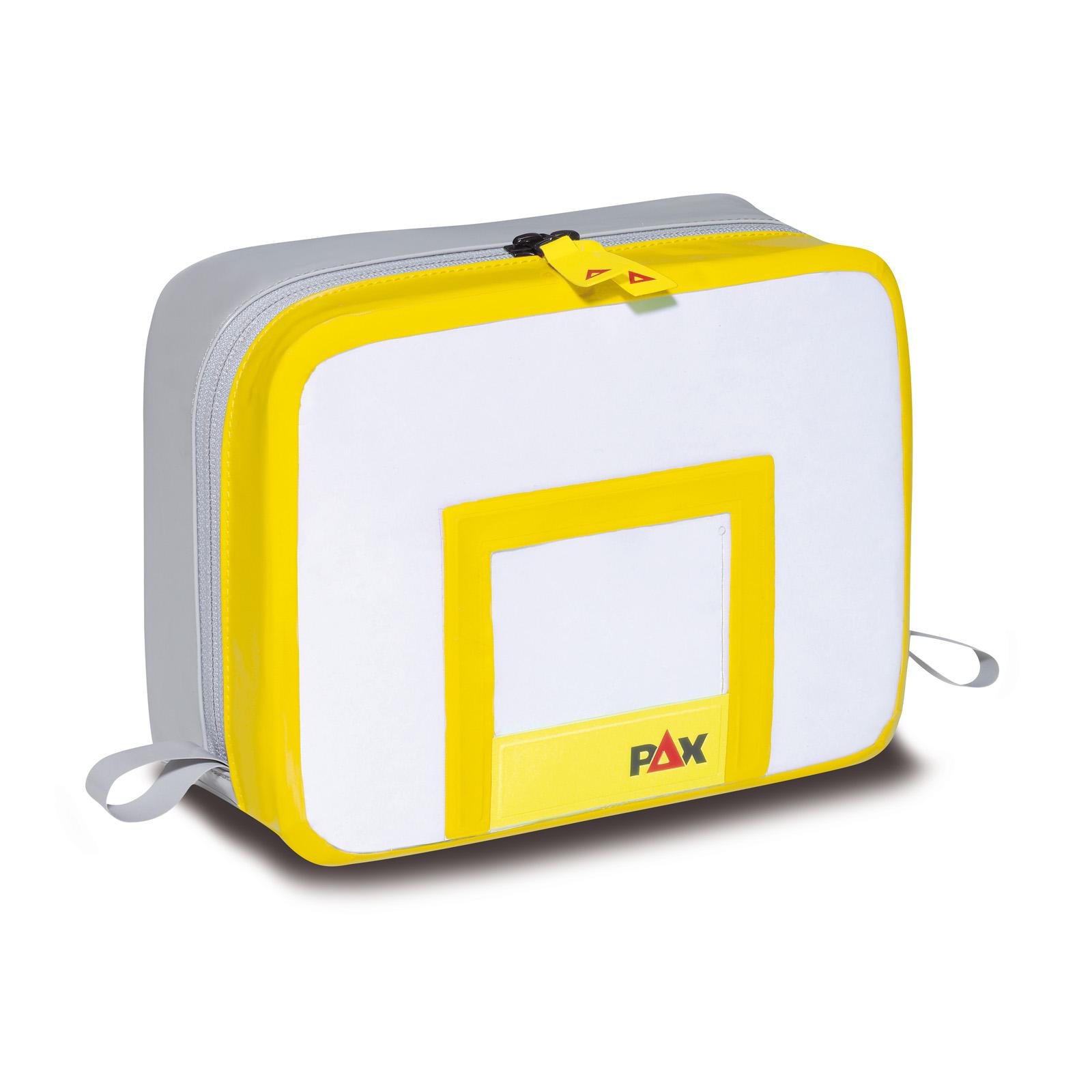 Innentasche FT - geschweißt - Magnet, PAX-PureTex in gelb
