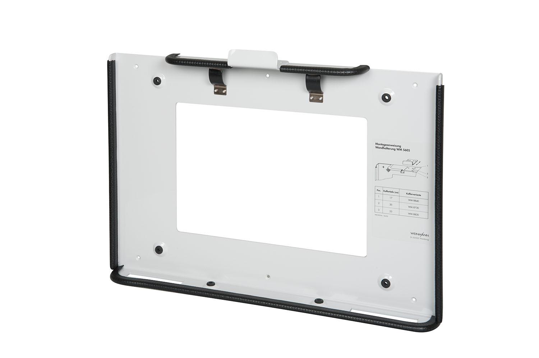Set Wandhalterung passend für: verstellbar für Koffertiefen 17, 18, 20 und 23 cm, in Fahrzeugen, inkl. Befestigungsmaterial (erfüllt die Norm EN 1789), Gewicht 2 kg,