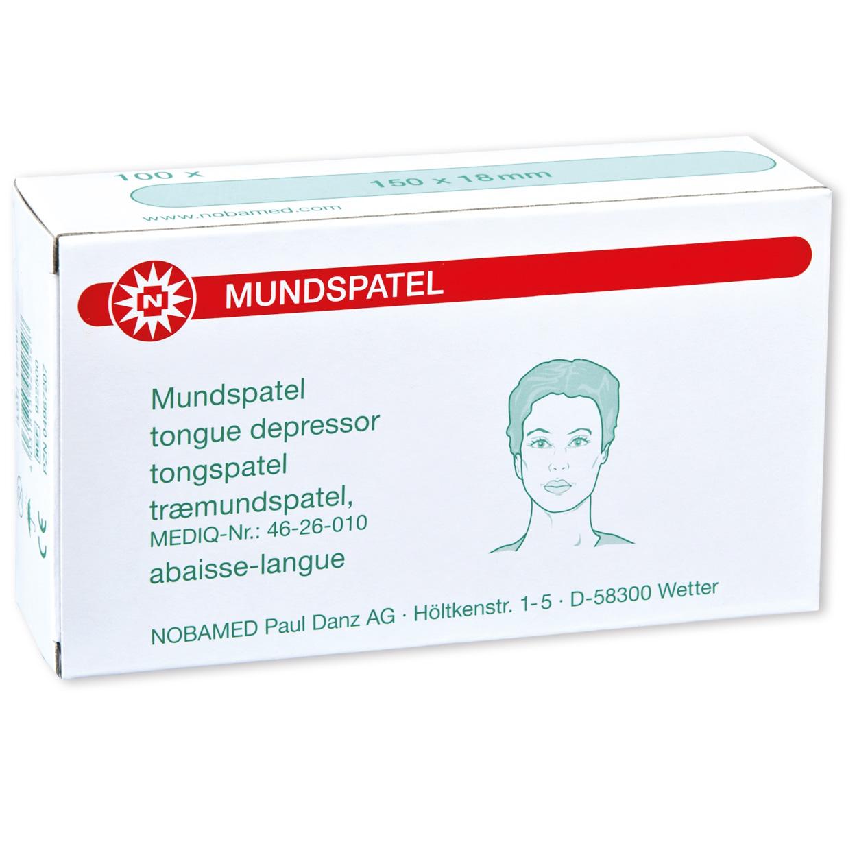 MUNDSPATEL für Erwachsene, 150 mm - Packung à 100 Stück