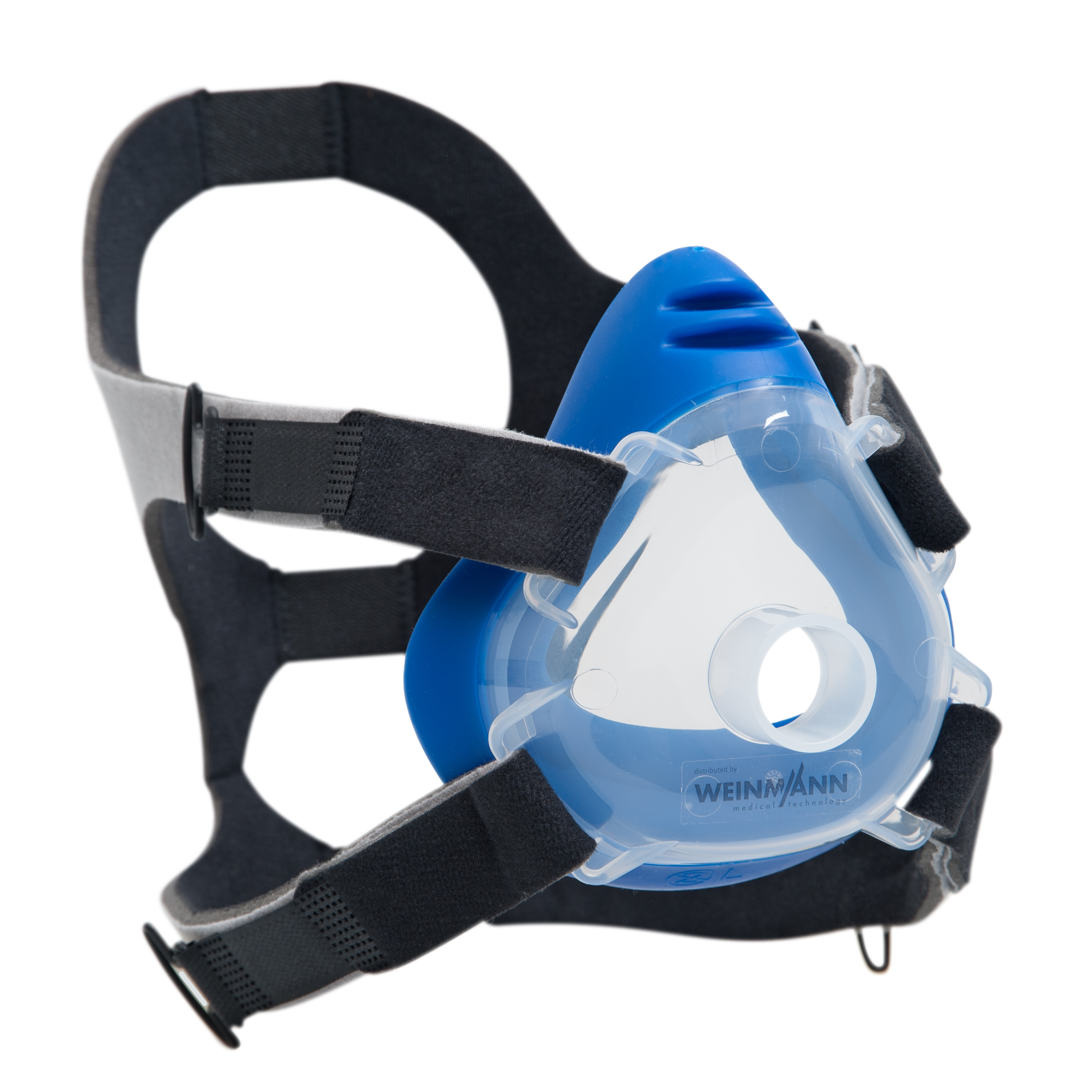 Premium CPAP-/NIV-Einwegmaske inkl. Kopfbänderung  Größe L (großer Erwachsener)