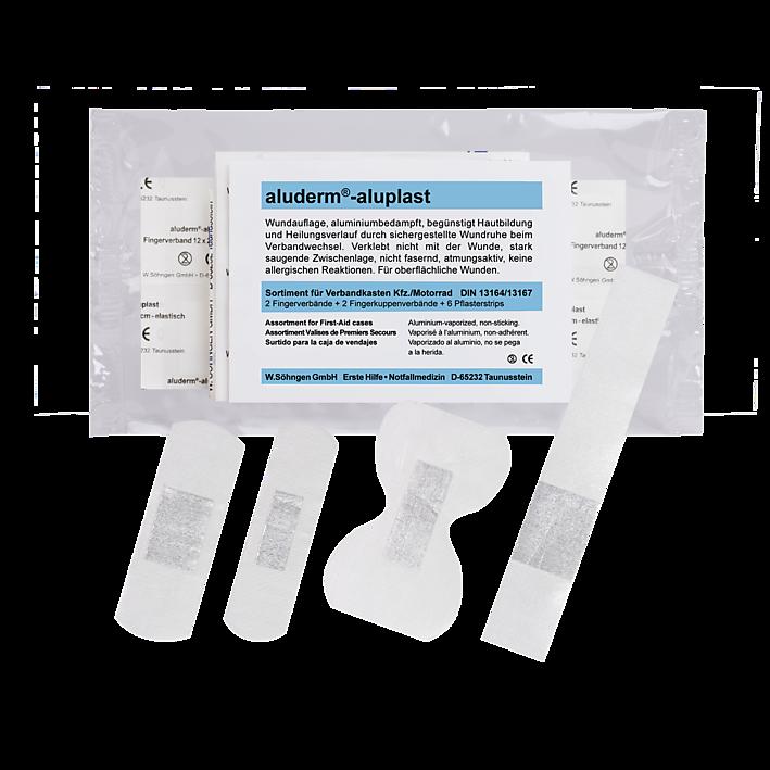 aluderm®-aluplast Sortiment DIN 13164/13167