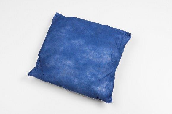Einmalkissen, blau, 40 x 40 cm