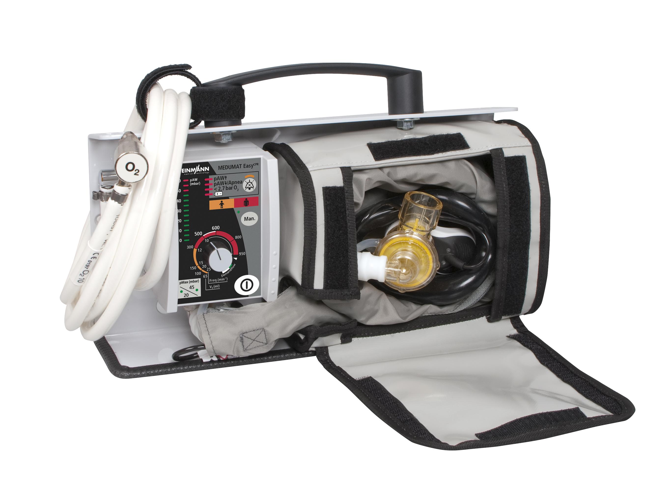 MEDUMAT Easy CPR auf LIFE-BASE light mit Zubehörtasche