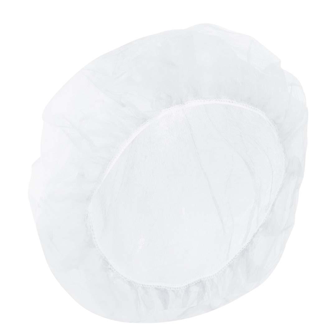 Baretthaube, weiß, verpackt im PE Beutel, Packung à 100 Stück