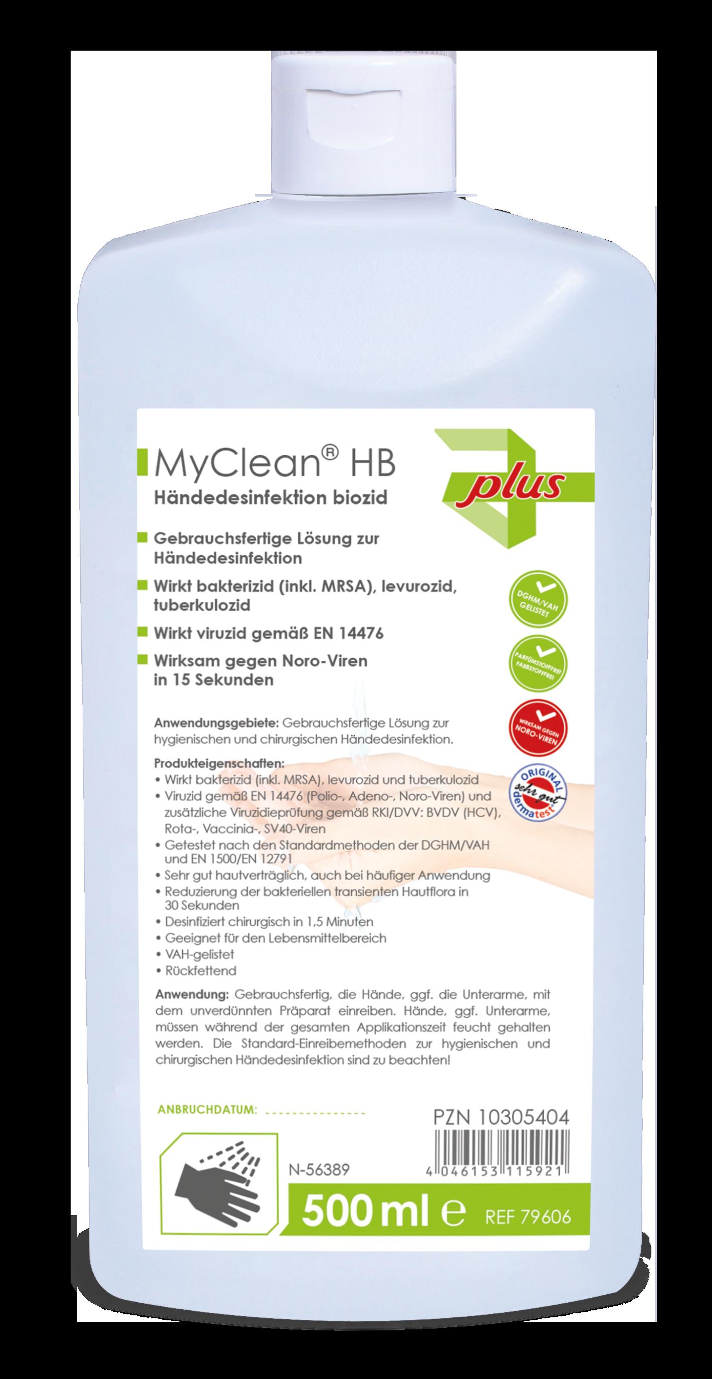 MaiMed® MyClean HB Händedesinfektion
