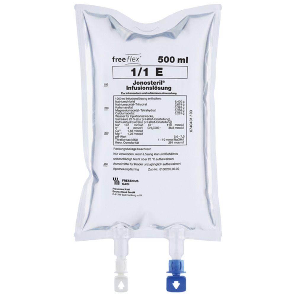 Fresenius Ringer-Lösung 500 ml, freeflex®-Beutel