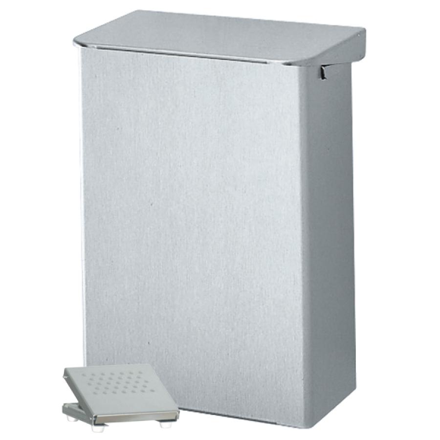 ingo-man® plus AB 6 Abfallbehälter - Volumen: 6 Liter, Aluminium, pulverbeschichtet