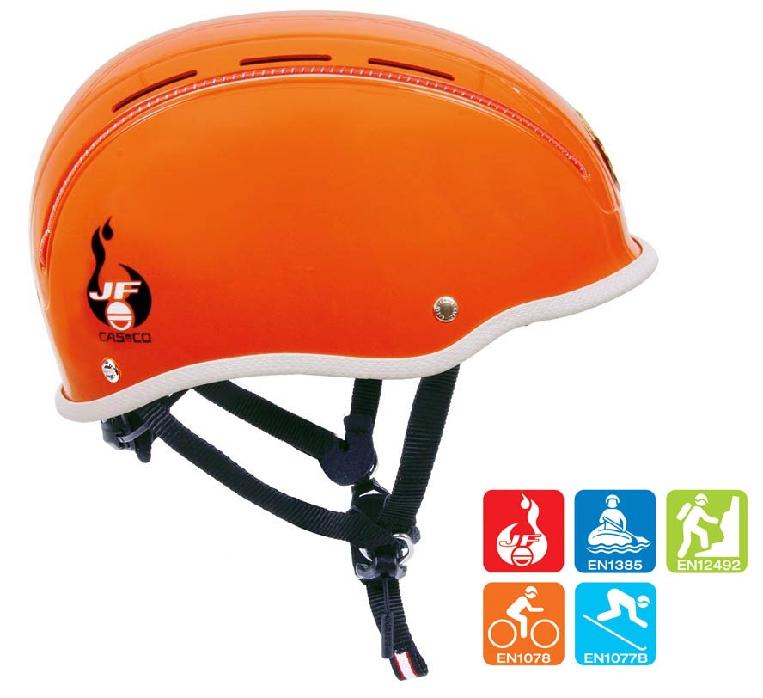 """CASCO Neo Protect """"5 in 1"""" Jugendfeuerwehrhelm in orange"""