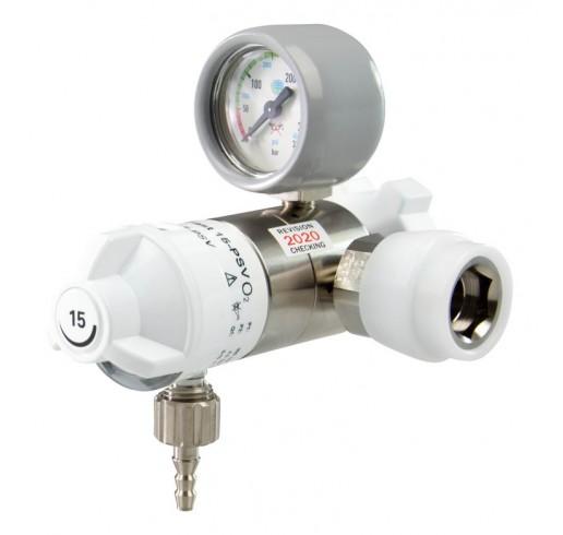 OXYWAY Fast II, G 3/4'  Druckminderer für Sauerstoff