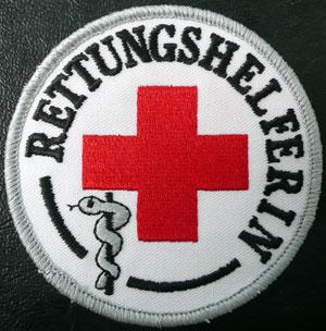 Fachkraftabzeichen Rettungshelferin