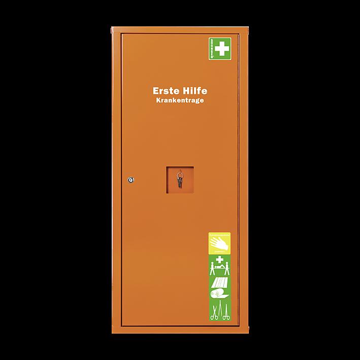 ANBAUSAFE Erste-Hilfe-Trage gefüllt orange