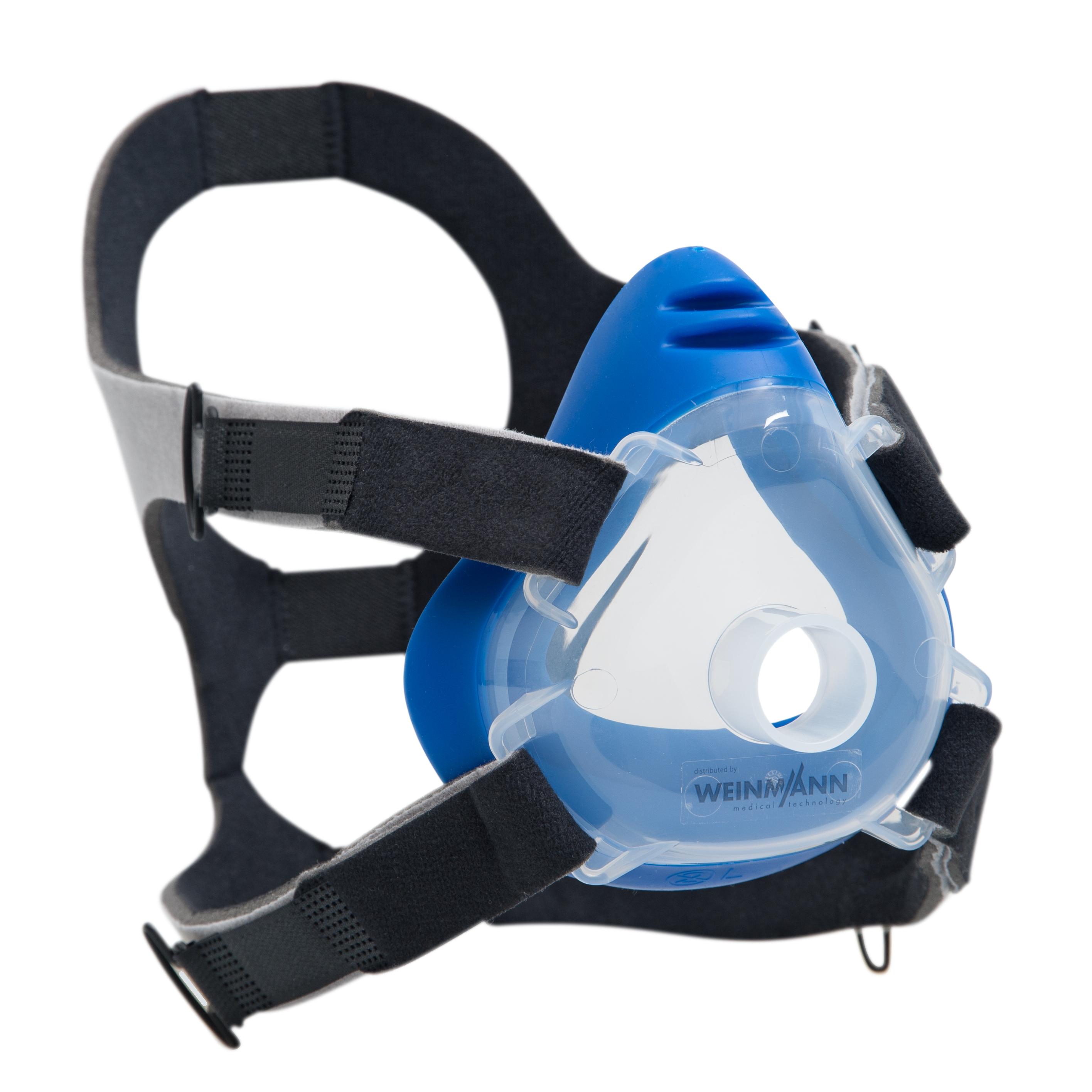 Premium CPAP-/NIV-Einwegmaske inkl. Kopfbänderung  Größe L (großer Erwachsener), 10er-Set