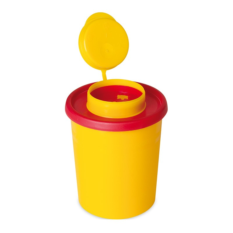 Kanülenabwurfbehälter, Entsorgungsbehälter Multi-Safe 500