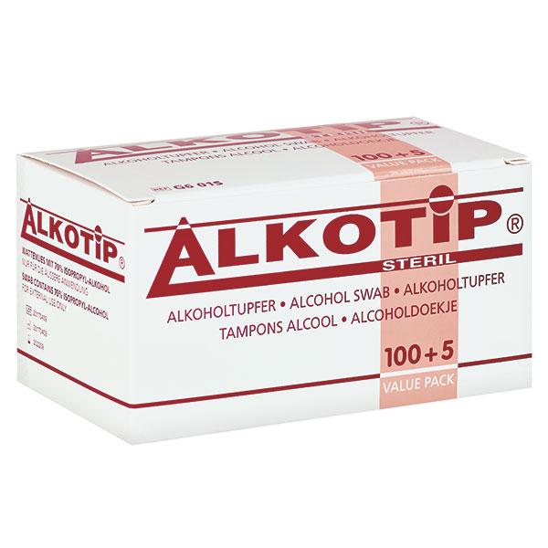 Alkotip Alkoholtupfer steril - Packung à 100 Stück