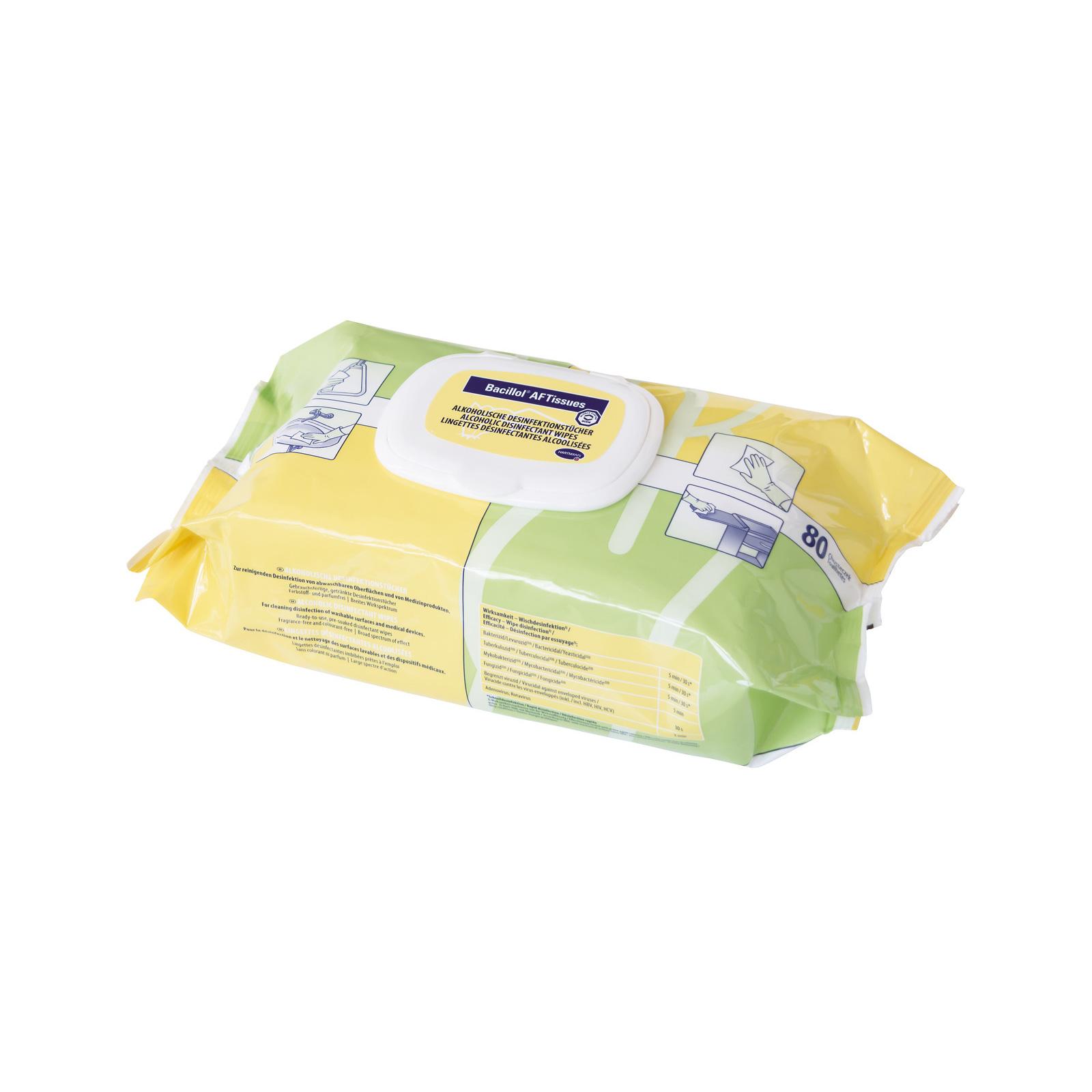 Bacillol® AF Tissues, Flowpack (80 Tücher)