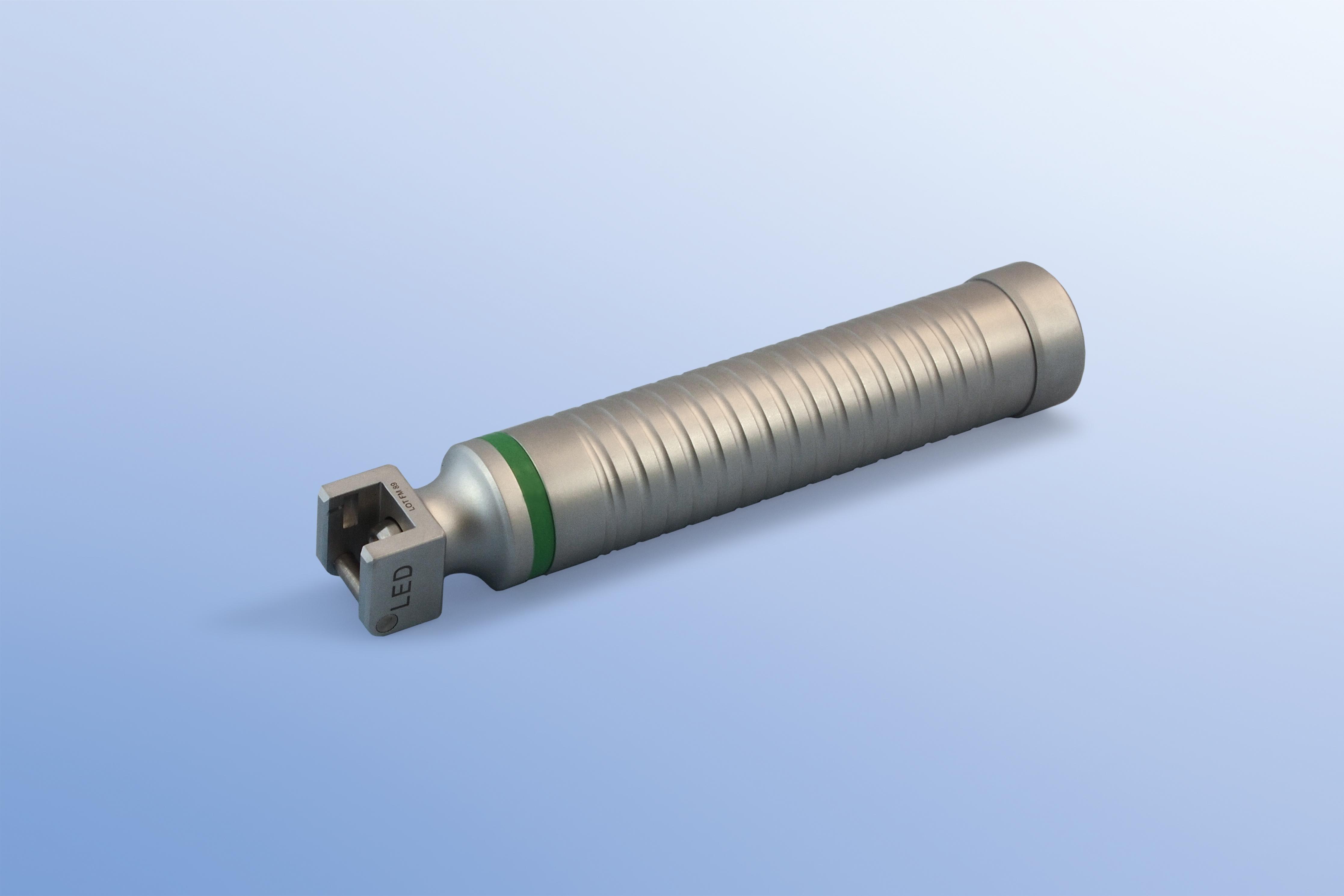 Laryngoskop-Griff mit Batterie, LED, Erwachsener