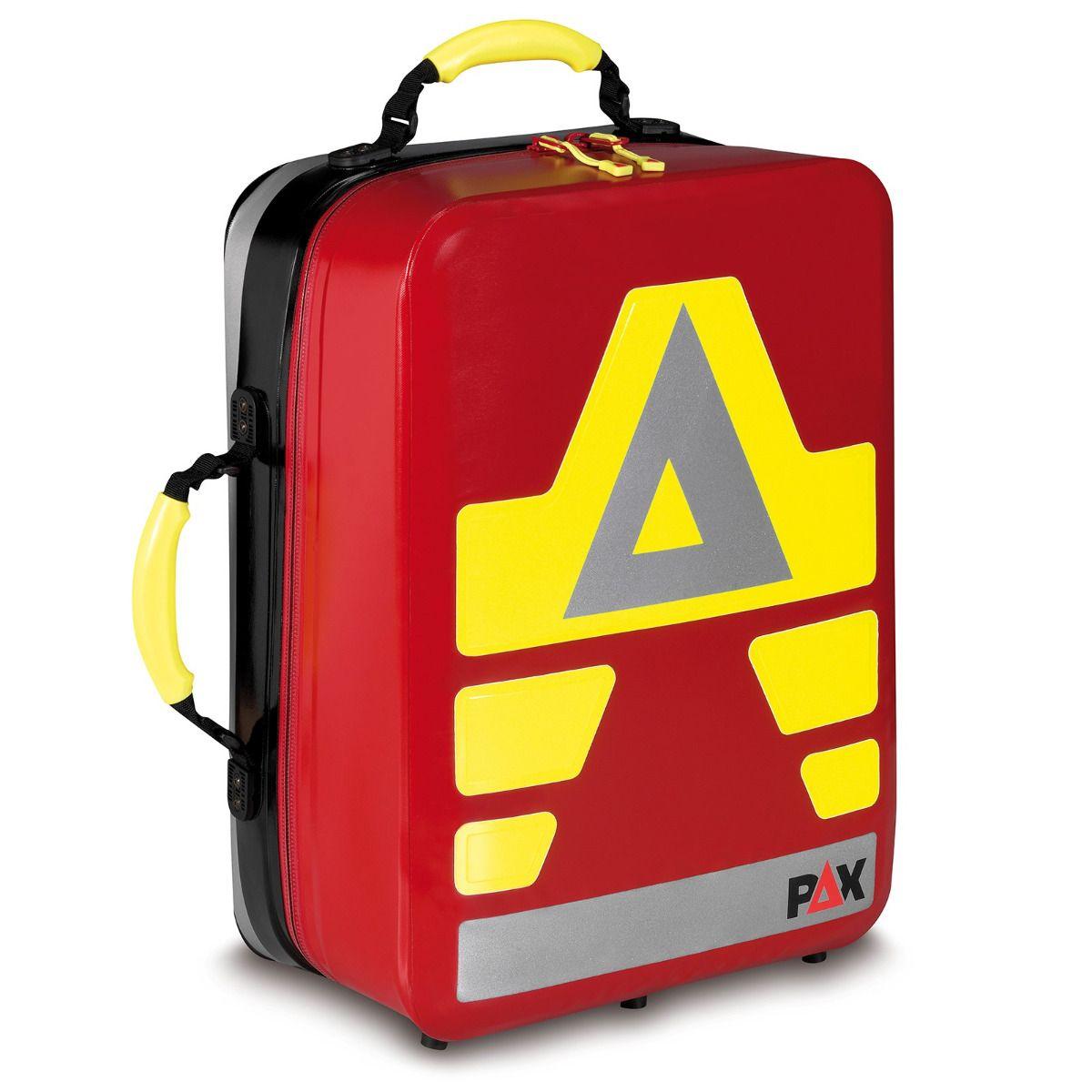 Notfallrucksack P5/11 L Wasserdicht Funktionsmodulset, PAX-Tec in rot