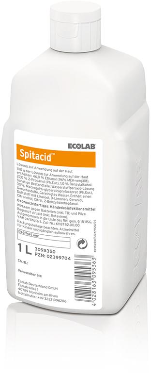 Spitacid 1000 ml Händedesinfektion