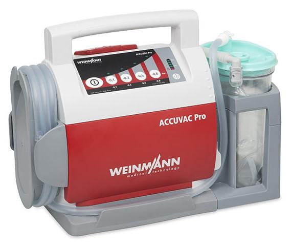 ACCUVAC Pro mit Einwegbehältersystem, elektrisches Absauggerät
