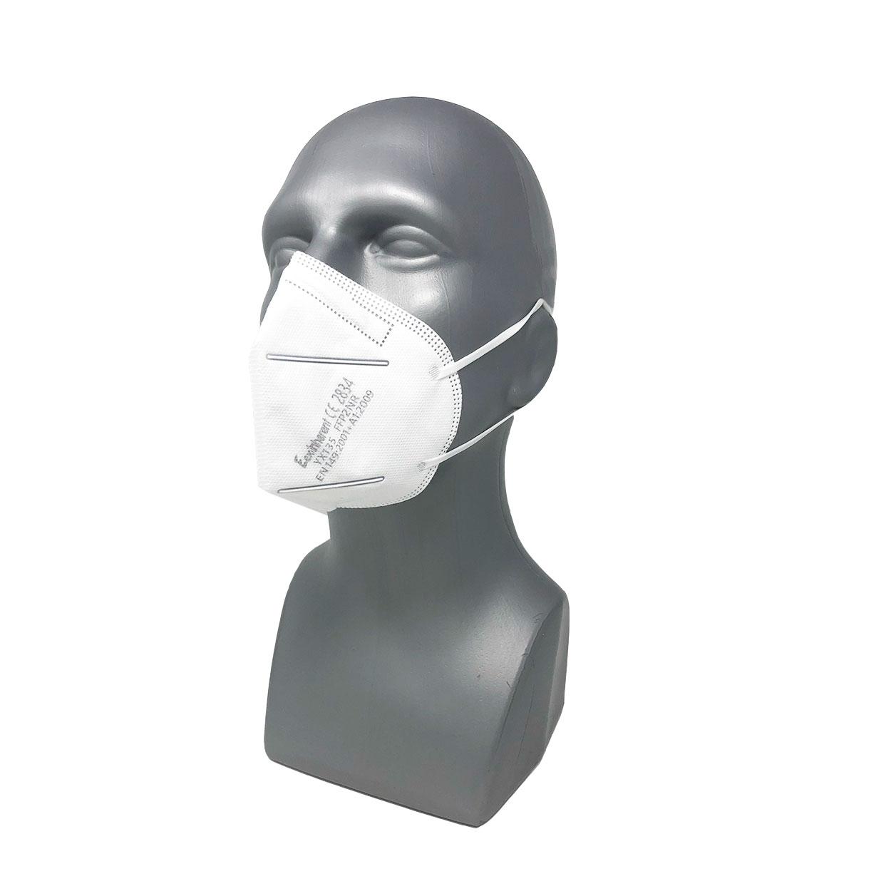 FFP2 Atemschutzmaske ohne Ventil, Packung á 5 Stück