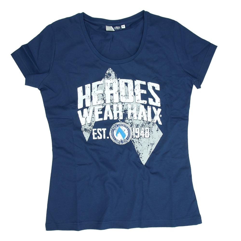 T-Shirt 2015 Damen blau