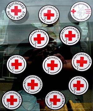 Autohaftplakette Notfallsanitäterin