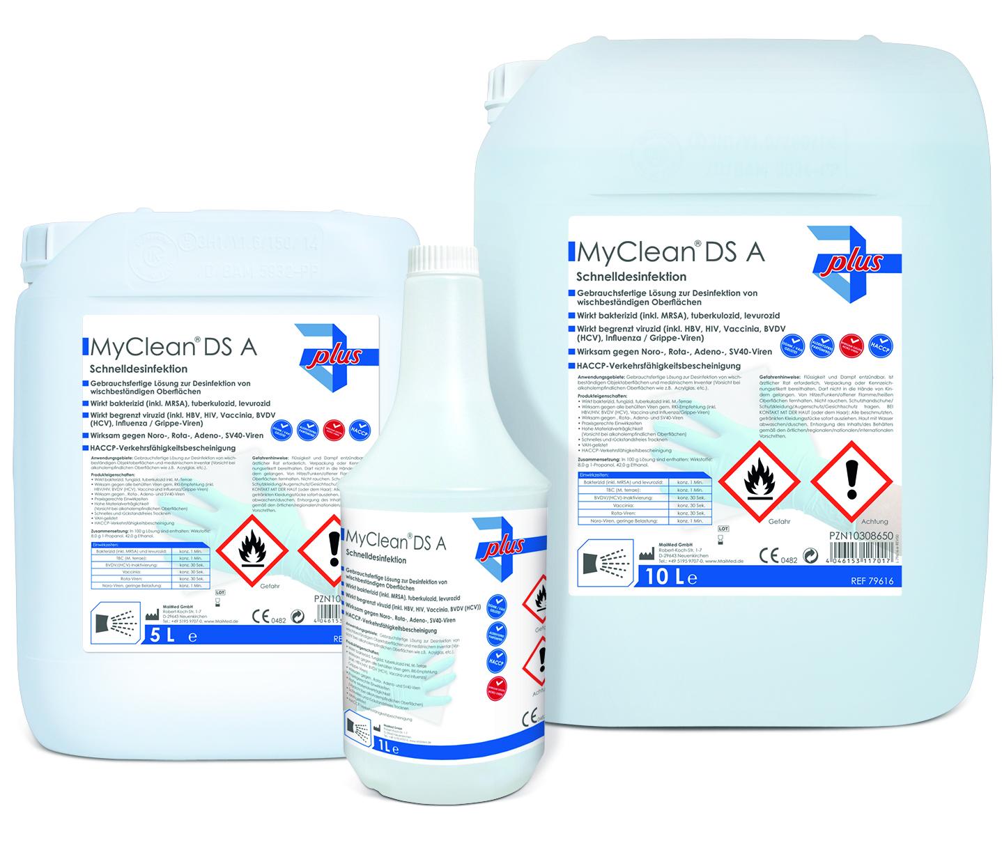 MyClean® DS Schnelldesinfektion (neutral)