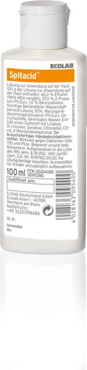 Spitacid Händedesinfektion 100 ml