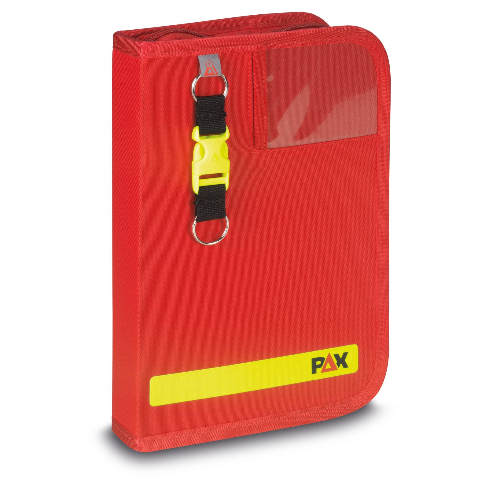 Fahrtenbuch DIN A5-hoch - 2019, PAX-Plan in rot