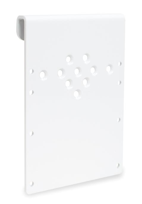 Halteblech für Geräteschienen Kombinierbar mit Halterungen für ACCUVAC, Netz-/Ladegeräte oder Akku-Pack