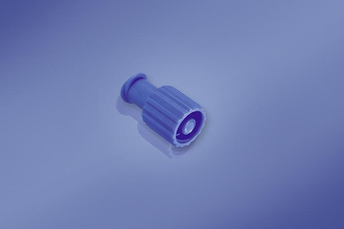 Kombi-Stopfen in blau, Packung à 100 Stück