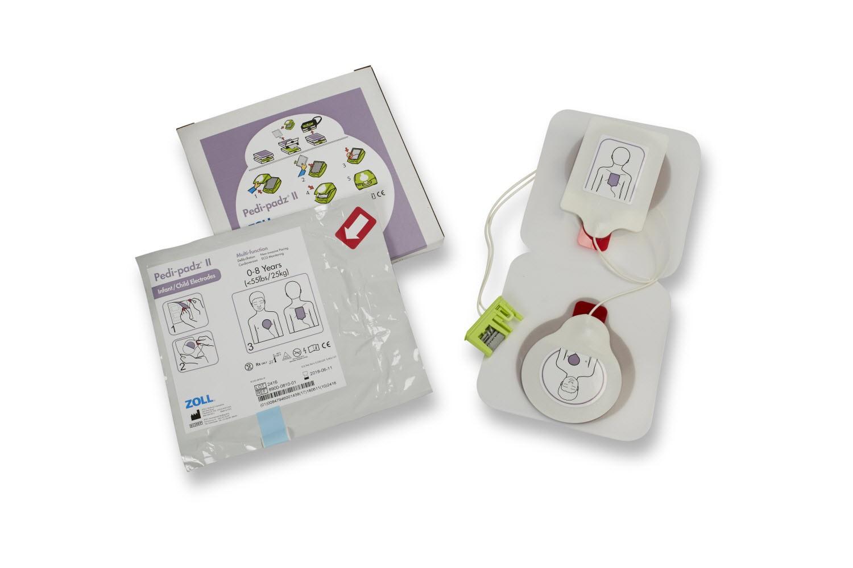 Pedi Padz II Defielektroden für Kinder