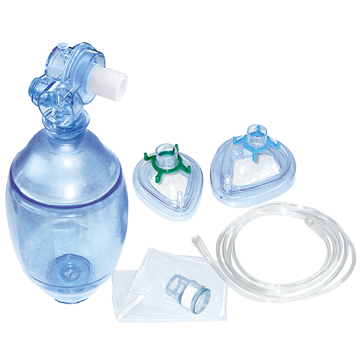 AERObag Beatmungsbeutel PVC, für Erwachsene mit Maske Gr. 3 und 5