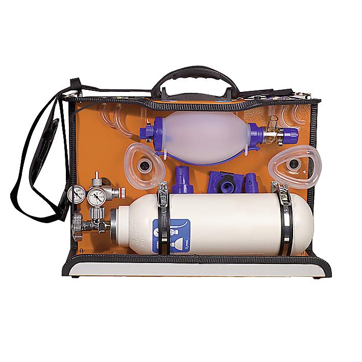 Beatmungsmodul O2-Plus mit 5 l Sauerstoff-Flasche