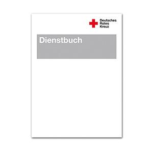 Dienstbuch (DRK) Broschur ca. 10 x 14 cm, 36 Seiten, VE à 10 Stück