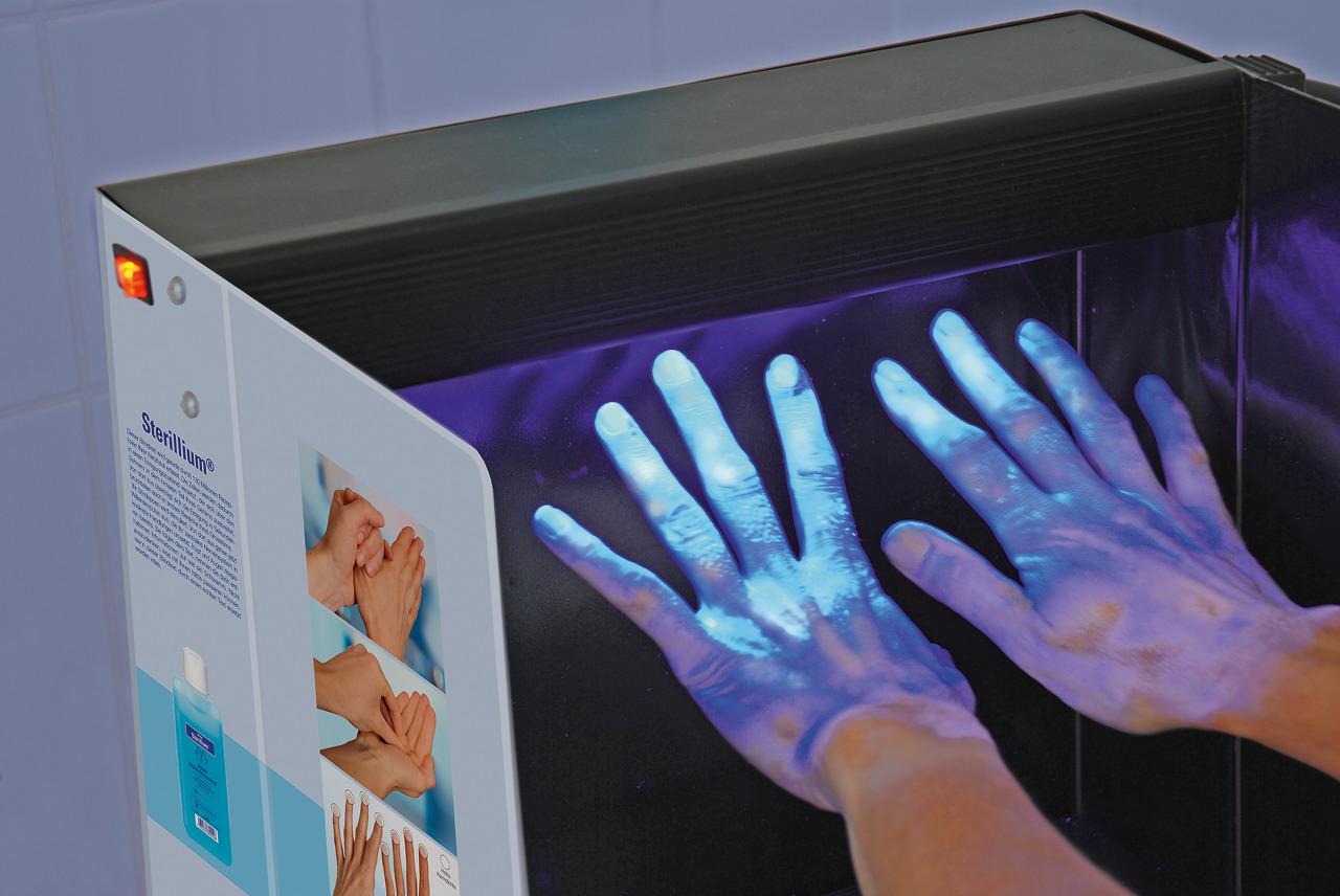 Derma LiteCheck Box für Händehygiene Training