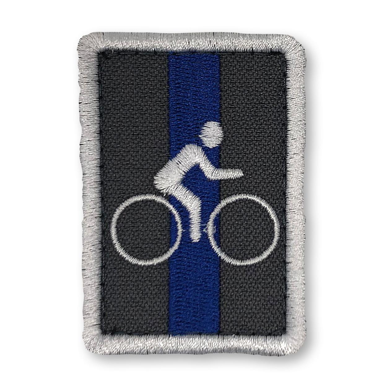 """Dienststellungsabzeichen """"FUN"""" Fahrradstaffel auf Klett"""