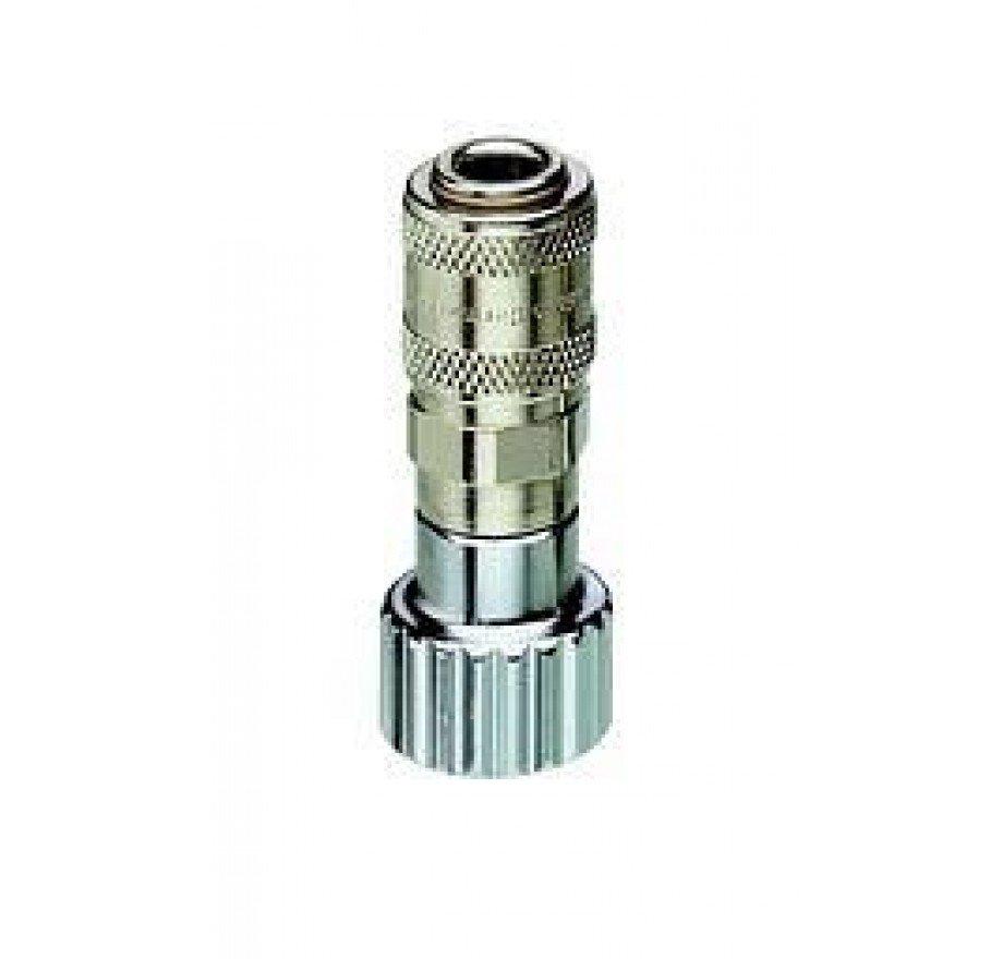 Adapter mit G 3/8-Innengewinde und Sauerstoff- Schnellkupplung Typ Walther