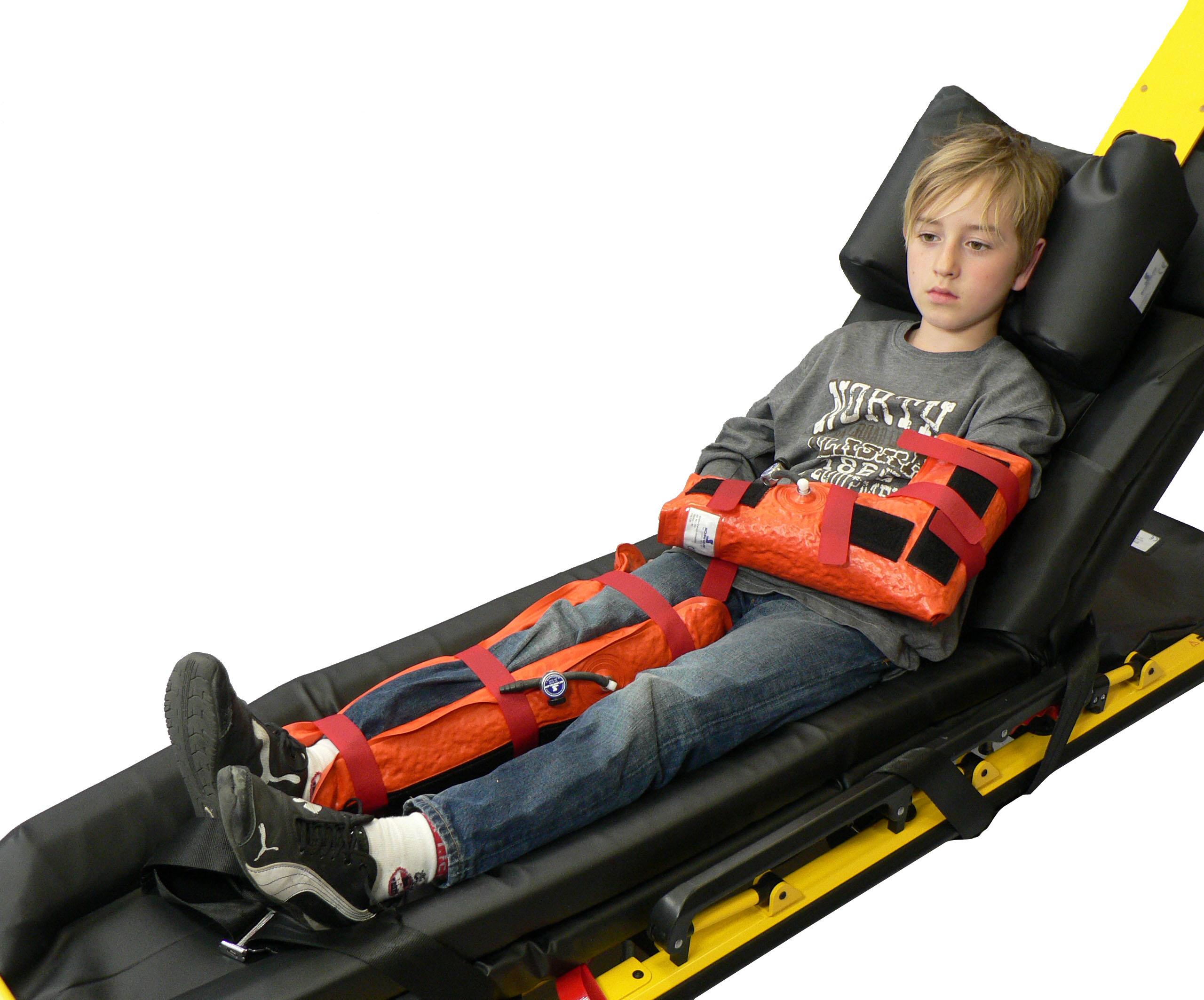 Kinder-Vakuum-Beinschiene