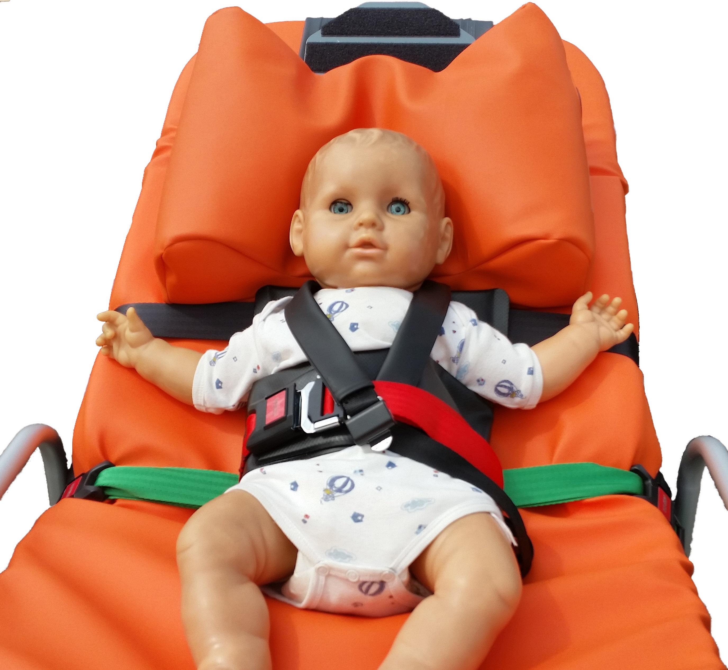 Baby- und Kinderrückhaltesystem, abnehmbar inkl. Aufbewahrungstasche